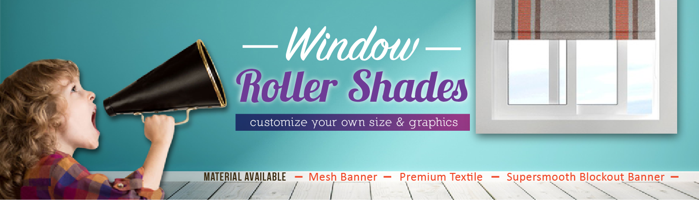 Custom Print Window Shades