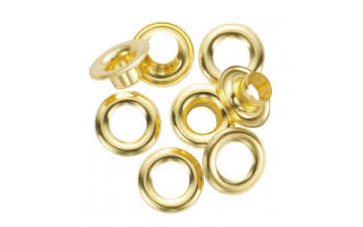 Hiker #1 Brass Self Piercing Grommets