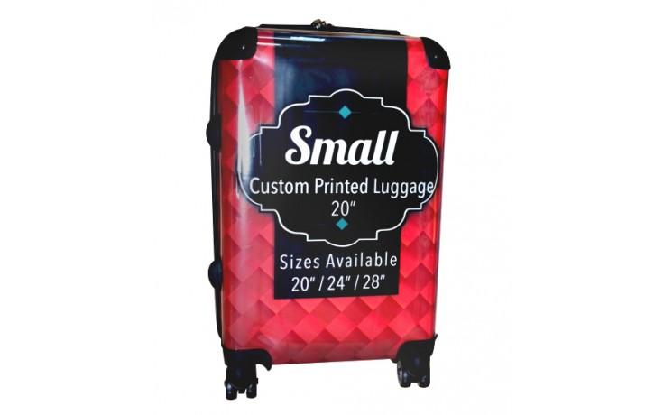 "Custom Printed Luggage - 20"" Small"