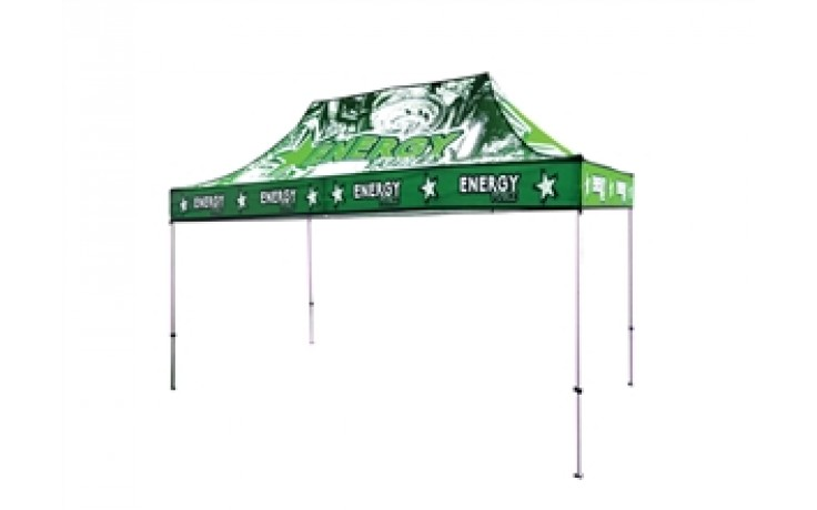 10x15 Custom UV Tent Canopy