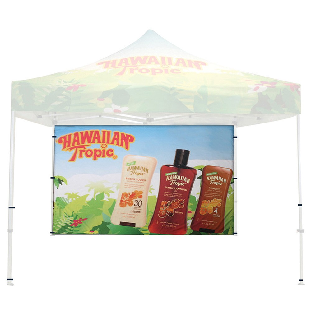 Dye-Sub Back wall Graphic Only for Classic Tent 10 ft.