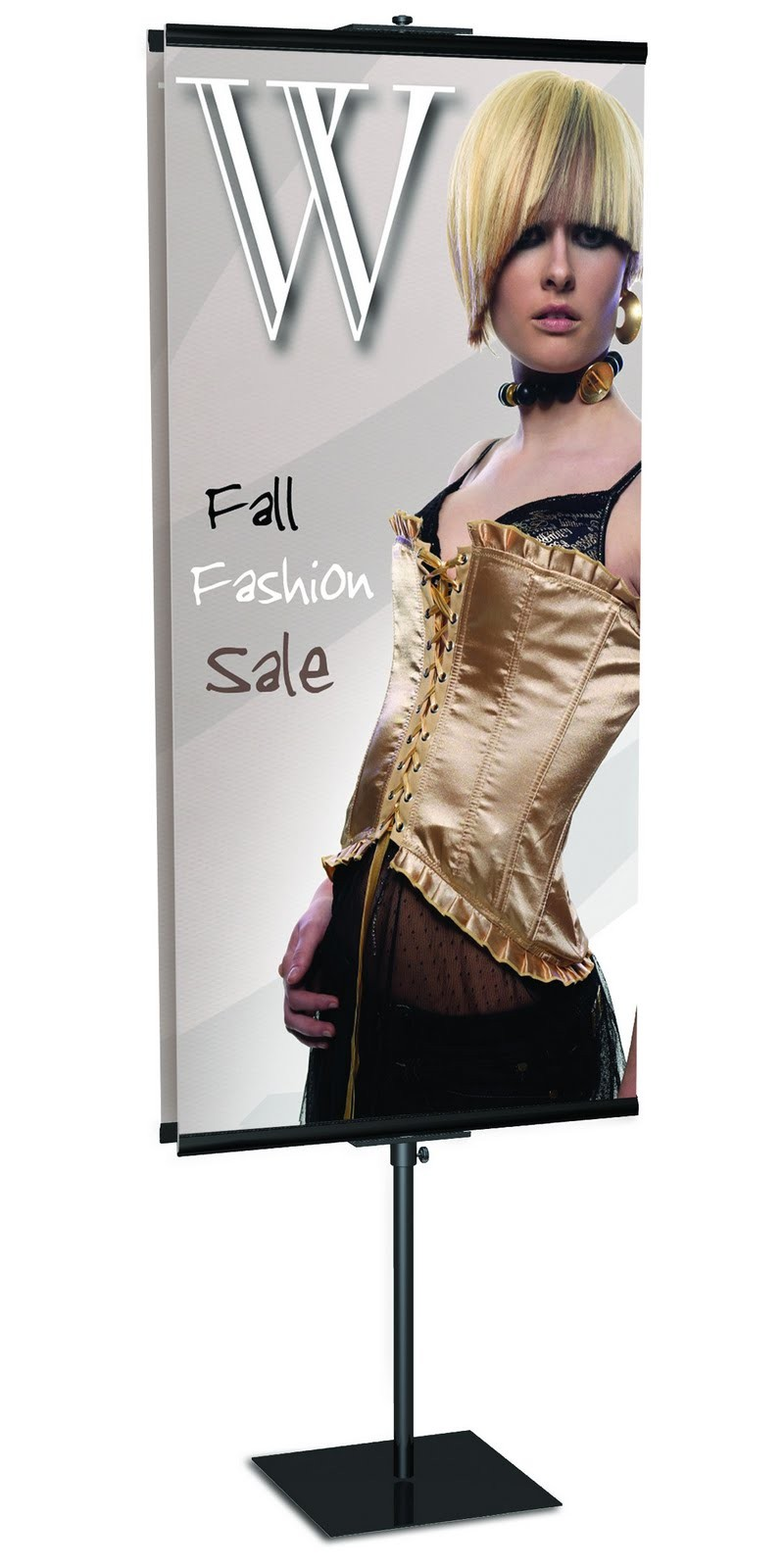 """GripGraphics Banner Stand 24"""" x 96"""""""