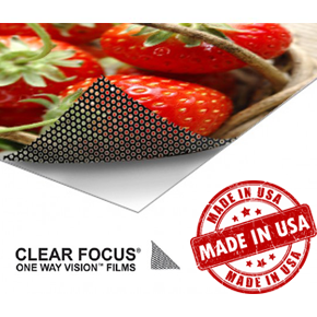 Perforated Vinyl (Clear Focus 35/65)