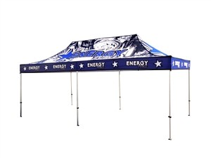 10x20 Custom UV Tent Canopy