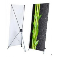 "X Stand - Large (48"" x 78"") with Graphics"
