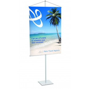 "Budget Banner Stand 30"" x 48"""