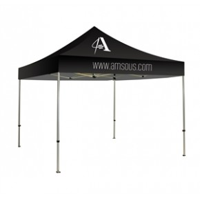 10x10 Stock 1 Color Logo Canopy