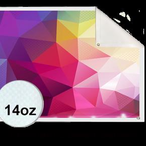 14oz. Coated Premium Banner
