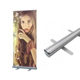 """Standard Retractable 24   (23.5"""" x 64"""") with Graphics (on sales)"""