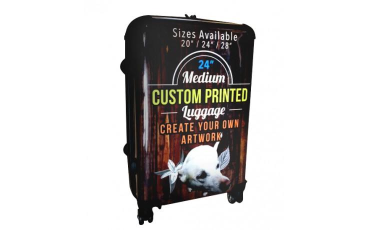 """Custom Printed Luggage - 24"""" Medium"""