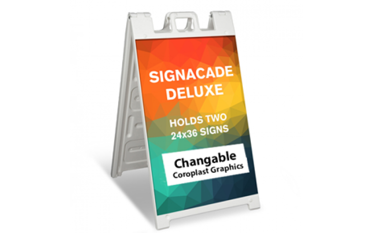 """Signicade Deluxe A Frame (24"""" x 36"""") with Graphics"""