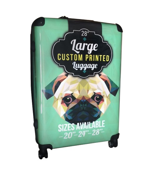 "Custom Printed Luggage - 28"" Large"