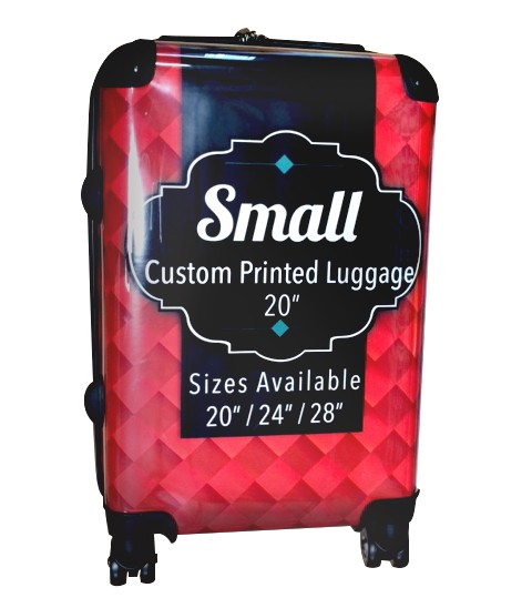 "Custom Printed Luggage - 20"" Small"