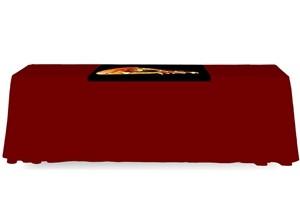 Table Runner - Full Color / 4 Ft. Open Back