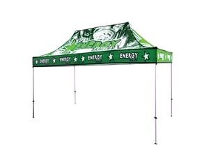 10x15 Custom UV Tent Canopy