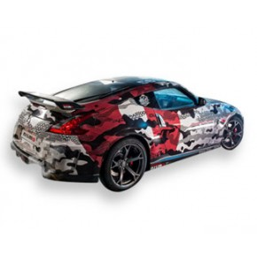 Car Wrap Cast Vinyl - (3M IJ180Cv3) + Lamination (3M 8518)