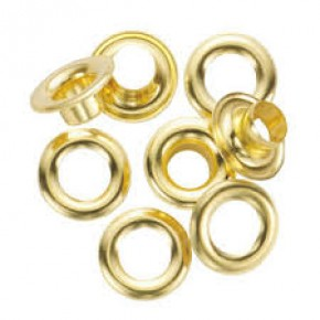 Hiker #5 Brass Self Piercing Grommets
