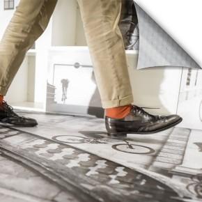 Easy Apply Print 'N Walk Dot Adhesive Floor Vinyl (Neschen)