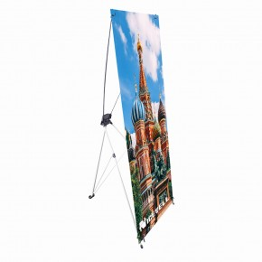 "X Stand - Small (24"" x 63"") with Graphics"