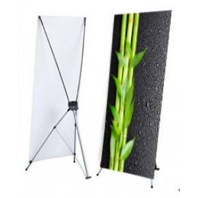 "X Stand - Large (47"" x 78.74"") with Graphics"